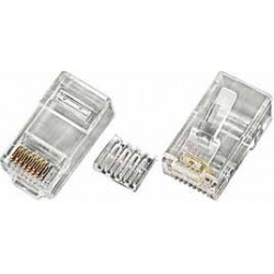 CAT6 Solid RJ45 Plug for 24-26 AWG Cable