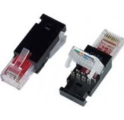 CAT5e Toolless RJ45 Plug for 24-26 AWG Solid/Stranded Cable