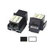 CAT5e Keystone Jack Coupler