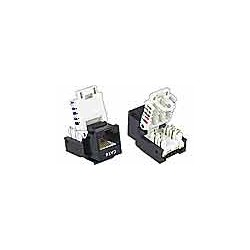 CAT6 Tooless Vertical Keystone Jack