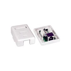 CAT5e Surface Mount Boxes, Shielded