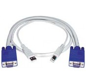 VGA + USB Interface Cables, Male-to-Male