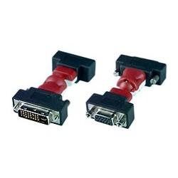 Flexible DVI-I Male to 15HD Female Adapter