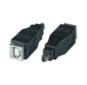 USB 2.0 Type B Female to Mini 8-pin Male Adapter for Olympus Camera