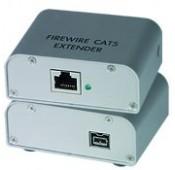 IEEE 1394 FireWire Extender, 1-port, 250'