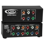Component Video/Audio Splitter, 2-Port
