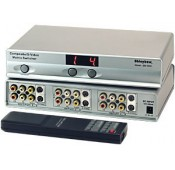 S-Video/Composite Video/Audio Matrix Switch: 4x2