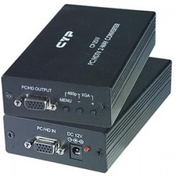 PC to HDTV Two-Way Video Scaler & Converter