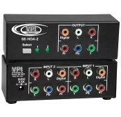 Component Video/Audio Switch, 2-Port