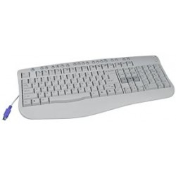 Multimedia PS2 Keyboard