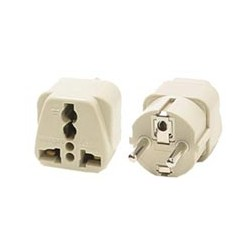 Universal Schuko CEE 7/7 Power Adapter for Europe