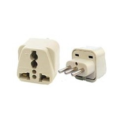 Universal CEI 23-50 Power Adapter for Italy, Uruguay