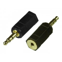 3.5mm Male Plug to 2.5mm Female Jack Stereo Audio Headphone Adapter