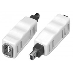 FireWire 6-pin Female to 4-pin Male Adapter