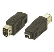 FireWire 6-pin Female to 4-pin Female Adapter