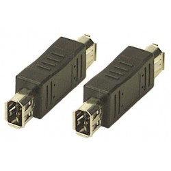 FireWire 6-pin Gender Changer, Female to Female