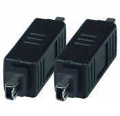 FireWire 4-pin Gender Changer, Male to Male