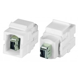 FireWire 4-pin Keystone Jack, Female to Female