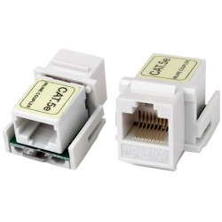CAT5e Keystone Shielded Jack Coupler