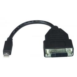 Mini DisplayPort Male to DVI-D Female Adapter Cable