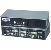 Dual Link DVI USB KVM Switch with FireWire Support