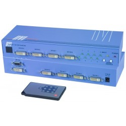 DVI-D Video Switches, 8-Port