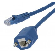 CAT6 Panel Mount Extension Cable