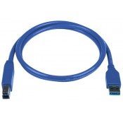 SuperSpeed USB 3.0 Cables, Male A to Male B