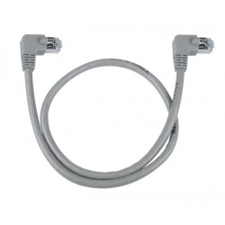 CAT5e Right Angle to Right Angle Shielded Patch Cord