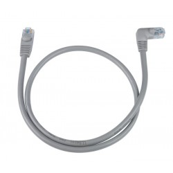 CAT5e Right Angle to Straight Patch Cords
