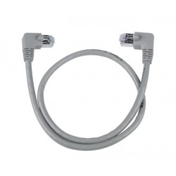 CAT6 Right Angle to Left Angle Shielded Patch Cords