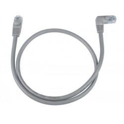 CAT6 Right Angle to Straight Shielded Patch Cords