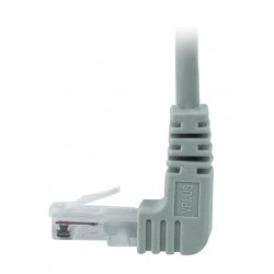 CAT6 Up Angle to Straight Patch Cords