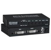 Universal Video Converter Scaler – HDMI/DVI/VGA/Component/Composite