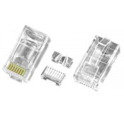 CAT6a Stranded RJ45 Plug for 24-26 AWG Cable