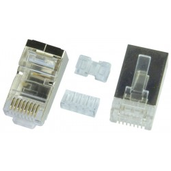 CAT7 Stranded Shielded RJ45 Plug for 23-26 AWG Cable