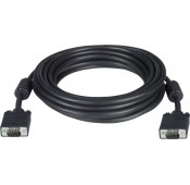 Plenum VGA Monitor Cable, Male to Male