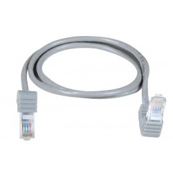 CAT5e Down Angle to Up Angle Patch Cords