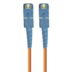 SC-SC Simplex Multimode Fiber Patch Cables, 50-Micron