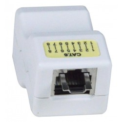 CAT6 RJ45 Shielded Inline Coupler with Lock
