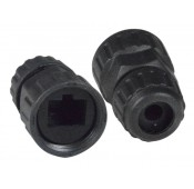 CAT5e Waterproof Cable Gland for Angled Coupler