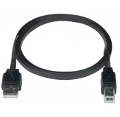 Super Flat USB 2.0 Cables, Male A to Male B