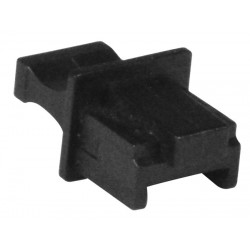 RJ45 Female Connector Covers, Black