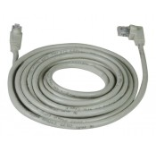 CAT6 Left Angle to Straight Patch Cords, Operating Temperature Range: -4 to 140°F (-20 to 60°C)