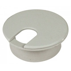 "1.25"" Round Plastic Cable Grommet Hole Cover"