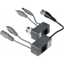 BNC Composite Video Balun/Extender via CAT5