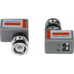 BNC Composite Video Balun/Extenders via Single Twisted Pair CAT5