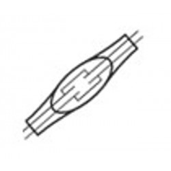 "4-Wire Inline Drop Wire Connector, 16-19 AWG Wires, 0.125"" Max Insulation OD"
