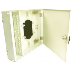 Fiber Optic Wall Mount Patch Panel Cabinet