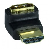 HDMI Type A Up Angle Adapter, Male to Female